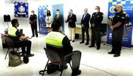 Clausurado el curso para inspectores y oficiales de cuerpos de Policía