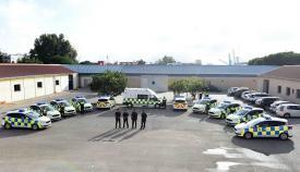 La Policía Local de Algeciras incorpora diez nuevos coches patrulla