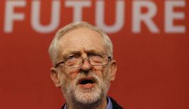 Jeremy Corbyn, líder de la oposición en Reino Unido