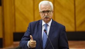 El vicepresidente de la Junta de Andalucía, Manuel Jiménez Barrios
