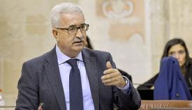 Jiménez Barrios vicepresidente Junta Andalucía en el Parlamento de Andalucía