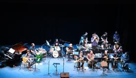 La Clasijazz Big Band Profesional en concierto. Foto Multimedia SR