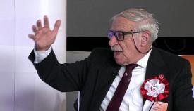 Joe Bossano, en una imagen de la última campaña electoral