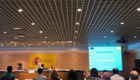 Reunión celebrada en el Ministerio de Hacienda para valorar los Edusi