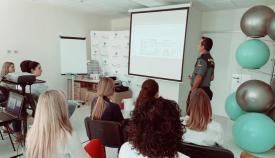 La Guardia Civil ofreció la jornada formativa en el Hospital Quirón