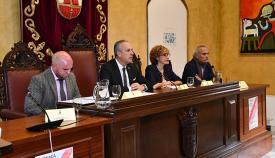 La jornada se ha desarrollado en el Palacio de los Gobernadores de San Roque