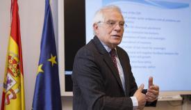 El ministro de Exteriores español Josep Borrell