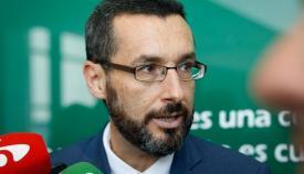 Juan Franco, alcalde de La Línea de la Concepción. Foto: NG