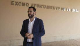 El alcalde de La Línea ha hablado con Fabian Picardo. Foto NG