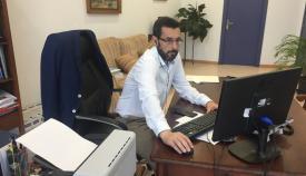 Juan Franco plantea el futuro uso del antiguo hospital de La Línea