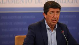 Juan Marín, vicepresidente de la Junta de Andalucía. Foto: NG