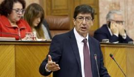 Juan Marín, vicepresidente de la Junta, ha confirmado las fechas