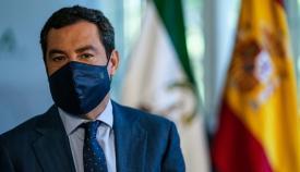 Juanma Moreno, presidente de la Junta de Andalucía. Foto: NG