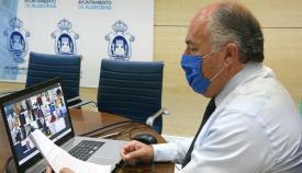Algeciras vuelve a celebrar su Junta de Gobierno de forma telemática