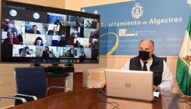 El Ayuntamiento de Algeciras celebra una nueva junta de gobierno