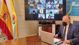 El alcalde de Algeciras preside la reunión de la Junta Local de Seguridad