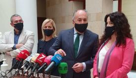 La consejera de Igualdad de la Junta de Andalucía visita Algeciras