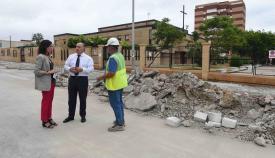 En marcha las obras de mejora en la barriada de La Reconquista