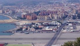 La Línea vista desde el Peñón de Gibraltar. Foto: NG