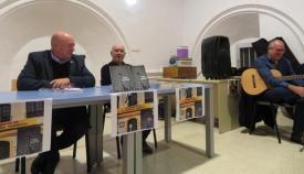 Un momento de la presentación del libro de Patricio González