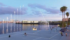 A licitación la redacción del proyecto de ejecución del Lago Marítimo