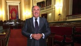 José Ignacio Landaluce, senador del PP y alcalde de Algeciras