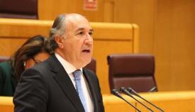 José Ignacio Landaluce, en una imagen de archivo en el Senado