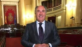 José Ignacio Landaluce, en el Senado. Foto: NG