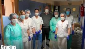 Landaluce pide 'no bajar la guardia en la lucha contra el coronavirus'