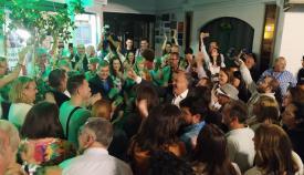 Landaluce celebra los resultados de Algeciras