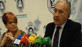Teresa Muela y José Ignacio Landaluce