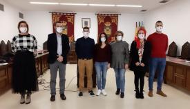 La lectura del manifiesto se llevó a cabo en el Salón de Plenos. Foto: lalínea.es