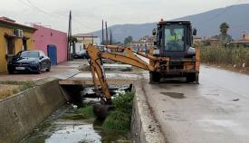 Uno de los trabajos que se están realizando en el Zabal. Foto: lalínea.es