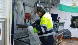 El Mercado extremará sus medidas de higiene y seguridad