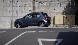 Este lunes fue el último cambio en LIne Wall Road. Foto Sergio Rodríguez