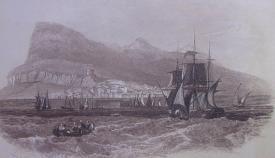 Litografía de la primera mitad del siglo XIX. Producida en Londres por J. y E. Harwood