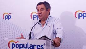 José Loaiza, portavoz del PP en Diputación