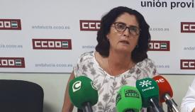 Lola Rodríguez es la secretaria general de CCOO en Cádiz