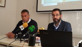 Juan Macías y Juan Franco, en una imagen de archivo. Foto: NG