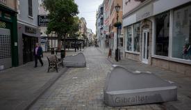Main Street en un día de confinamiento. Foto Sergio Rodríguez