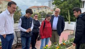 Visita del alcalde gibraltareño. Foto GG