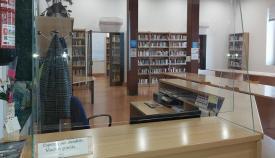 Recepción de la Biblioteca Municipal de La Línea. Foto: lalínea.es
