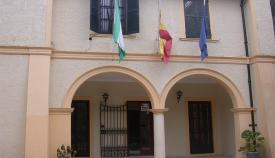 Entrada a la sede de la Mancomunidad de Municipios del Campo de Gibraltar