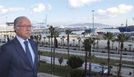 Manuel Morón, presidente del Puerto de Algeciras