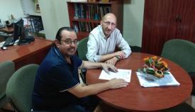 Los responsables comarcales de los sindicatos, Manuel Triano y Ángel Serrano
