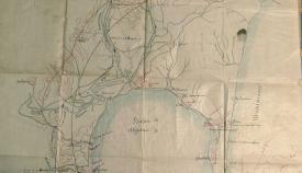 El Archivo Municipal recibe un listín telefónico de 1916 y un mapa de la ciudad de 1891