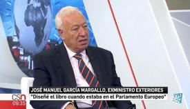 El exministro Margallo, en la entrevista de Canal Sur