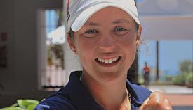 María Parra, una golfista salida de la cantera
