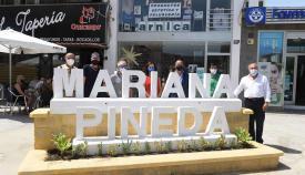 Instalada la nomenclatura de la barriada Mariana Pineda en Algeciras