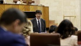 Juan Marín, vicepresidente de la Junta y consejero de Justicia